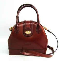Bally Women's Leather Handbag,Shoulder Bag Brown BF516439