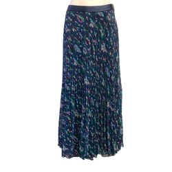 Anna sui Navy Print Skirt