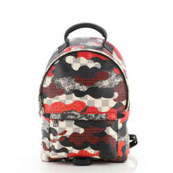 Palm Springs Backpack Limited Edition Patchwork Waves Damier PM
