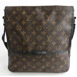 Louis Vuitton Monogram Macassar Canvas Bass MM Messenger Bag