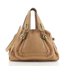Paraty Top Handle Bag Leather Small