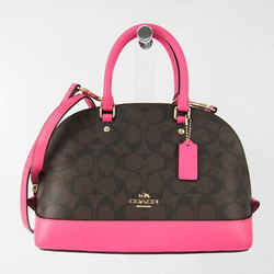 Coach Signature Luxury Mini Sierra Satchel F58295 Women's Leather,Coate BF527686