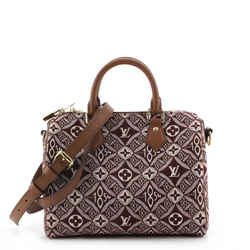 Speedy Bandouliere Bag Limited Edition Since 1854 Monogram Jacquard 25