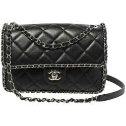 Chanel Aged Calfskin Flap Bag