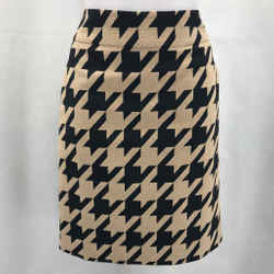 Akris Punto Tan Printed Skirt 6