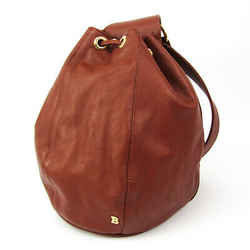 Bally Women's Leather Shoulder Bag Brown BF524711