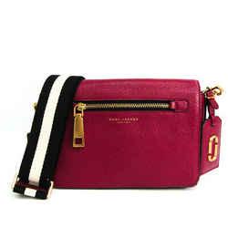 Marc Jacobs M0008278 Women's Leather Shoulder Bag Purple BF518395
