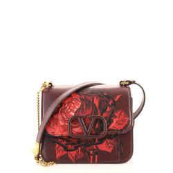 VSling Shoulder Bag Printed Leather Small