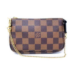 Authentic Louis Vuitton 2019 Mini Pochette Wristlet Bag