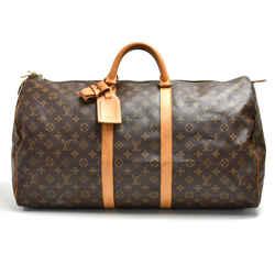 Vintage Louis Vuitton Keepall 55 Monogram Canvas Duffle Travel Bag LT928