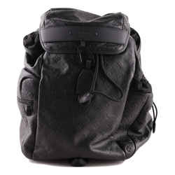 Louis Vuitton Discovery Gm Black Calf Leather Backpack