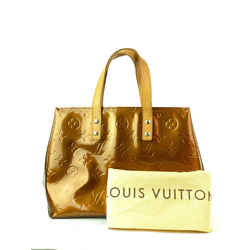 Louis Vuitton Monogram Vernis Reade PM Bronze Tote Small Copper 5L99