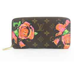 Louis Vuitton Stephen Sprouse Monogram Roses Long Zippy Wallet 266lvs216