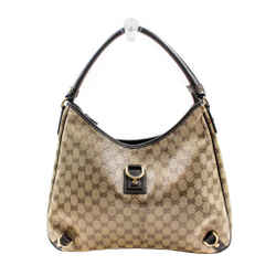 Gucci Crystal Monogram Large Abbey D Ring Hobo