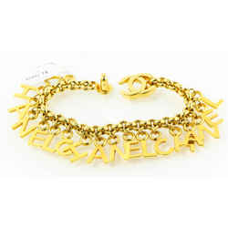 Chanel Gold Signature Chanel Bracelet