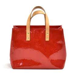 Louis Vuitton Reade PM Red Vernis Leather PM Handbag LT964