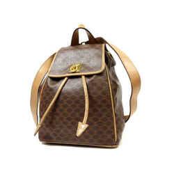 Celine Brown Monogram Macadam Backpack 858343