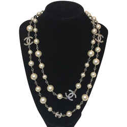 Chanel Cc Crystal Classic Long Necklace