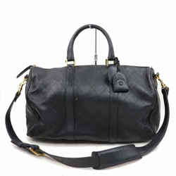 Chanel Quilted Lambskin Boston Duffle with Strap 870506
