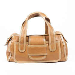 Pierre Hardy Bag Brown Leather Duffle
