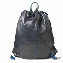 Auth Jimmy Choo Leather Backpack Black