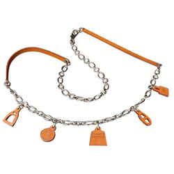 Herms Olga Charm 2way Belt Necklace 212573