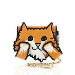 Cat Card Case Limited Edition Grace Coddington Epi Leather and Catogram Canvas