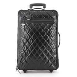 CC Charm Rolling Trolley Quilted Coated Canvas
