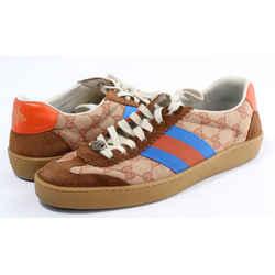 Gucci G74 Brick Red Beige Sneakers