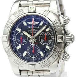 Polished BREITLING Chronomat 41 LTD Edition Automatic Mens Watch AB0141 BF519521