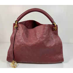 Louis Vuitton Empreinte Artsy MM in Raisin Hobo Shoulder Handbag