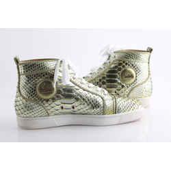 Christian Louboutin Python Louis Flat Sneakers