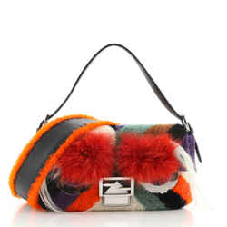 Monster Baguette Shearling with Fox Fur
