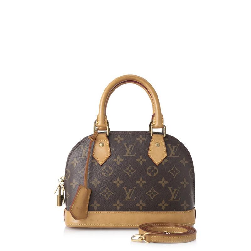 Pre Owned Louis Vuitton Monogram Alma Bb Leprix