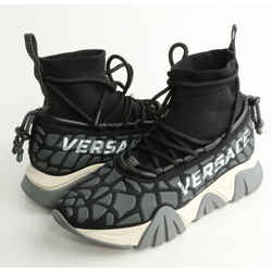 Versace Squalo Knit Sneakers with Knitted Sock