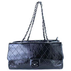Chanel Quilted Patent Kisslock Flap Tote R8CJ017L