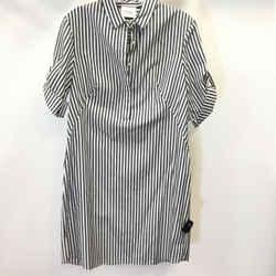 Women's Akris Punto Stiped Shirt Dress. Size 8