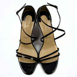 Christian Louboutin Strappy Sandals in Black