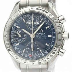 Polished OMEGA Speedmaster Triple Date Steel Automatic Watch 3523.80 BF517898