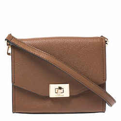 Michael Kors Brown Leather XS Cassie Crossbody Bag