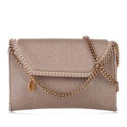 Vintage Authentic Stella McCartney Brown Falabella Crossbody Bag England