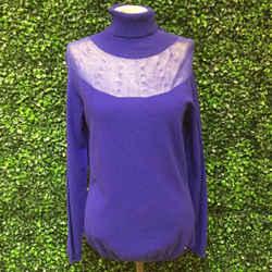 ESCADA ROYAL BLUE SWEATER | LG