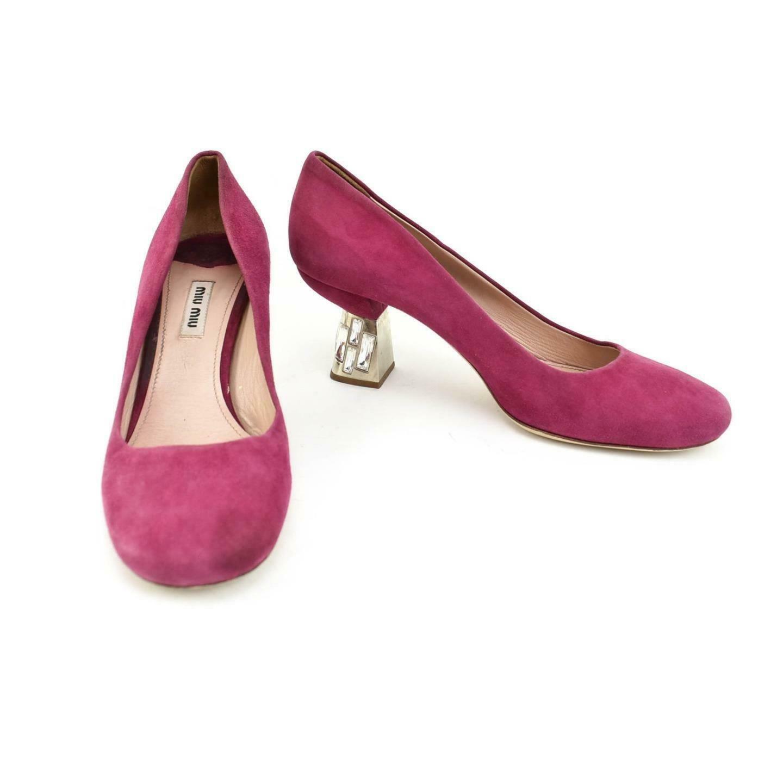 miu miu pink pumps
