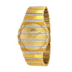 Piaget Polo Two Tone Gold & Diamond Watch 367758