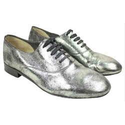 Christian Louboutin Silver Fred Metallic 40 Lbslm5 Flats size 40