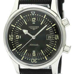 Polished Longines Lgend Diver Steel Automatic Mens Watch L3.674.4 Bf340890
