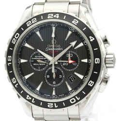 Polished OMEGA Seamaster Aqua Terra GMT Watch 231.10.44.52.06.001 BF518150