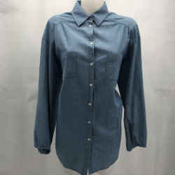 Vince Blue Button Down Small