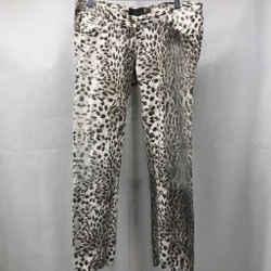 Roberto Cavalli Grey Printed Jeans 29