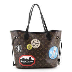 Neverfull NM Tote Limited Edition World Tour Monogram Canvas MM